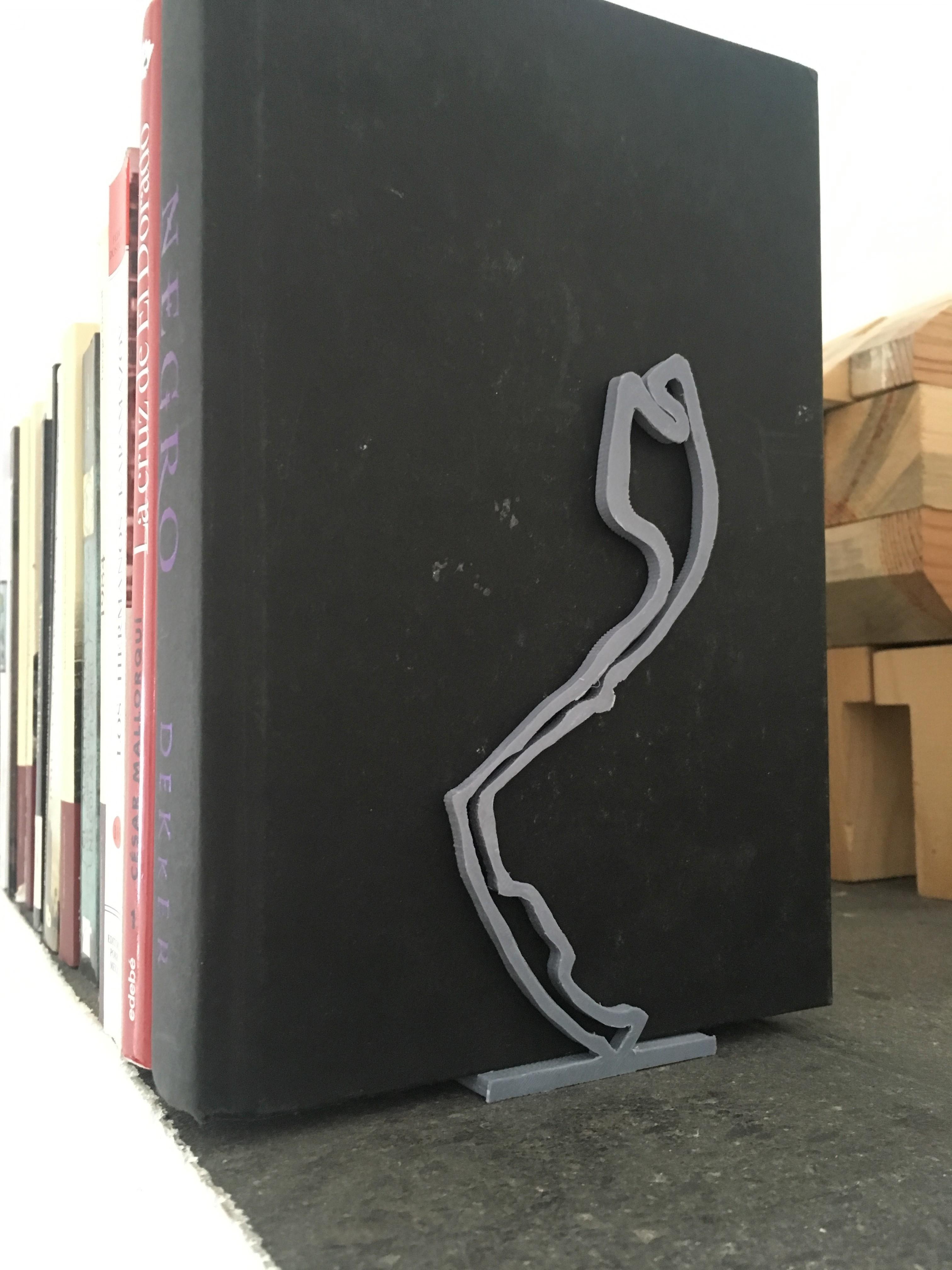IMG_4474.JPG Télécharger fichier STL gratuit Formula 1 Book Support Monaco & Nürburgring Track • Design imprimable en 3D, ALO