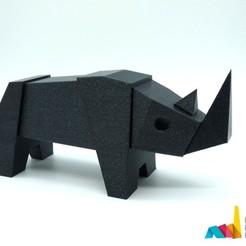 Free 3D printer files Rhino Magnetic Toy, AntonioJose81