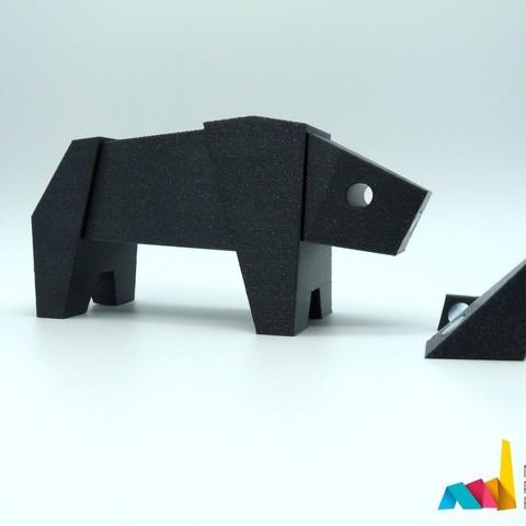 276740e3c49c0b5cee772c54ecb65452_display_large.jpg Download free STL file Rhino Magnetic Toy • 3D print model, AntonioJose81