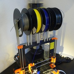 STL file Prusa i3 Mk2 Spool holder system, create_stuff