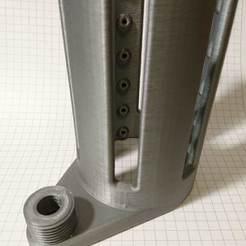 Plan imprimante 3D Ventilateur de douche version longue, create_stuff