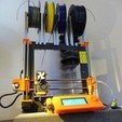 STL file Prusa i3 Mk2 Spool holder system, create_stuff