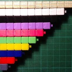 Cubes_Montessori.JPG Download free STL file Montessori Cubes • 3D print design, Hexawar