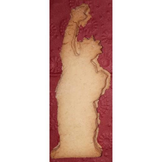 Biscuits.jpg Télécharger fichier STL gratuit La Statue de la Liberté est plus mignonne • Modèle imprimable en 3D, Hexawar