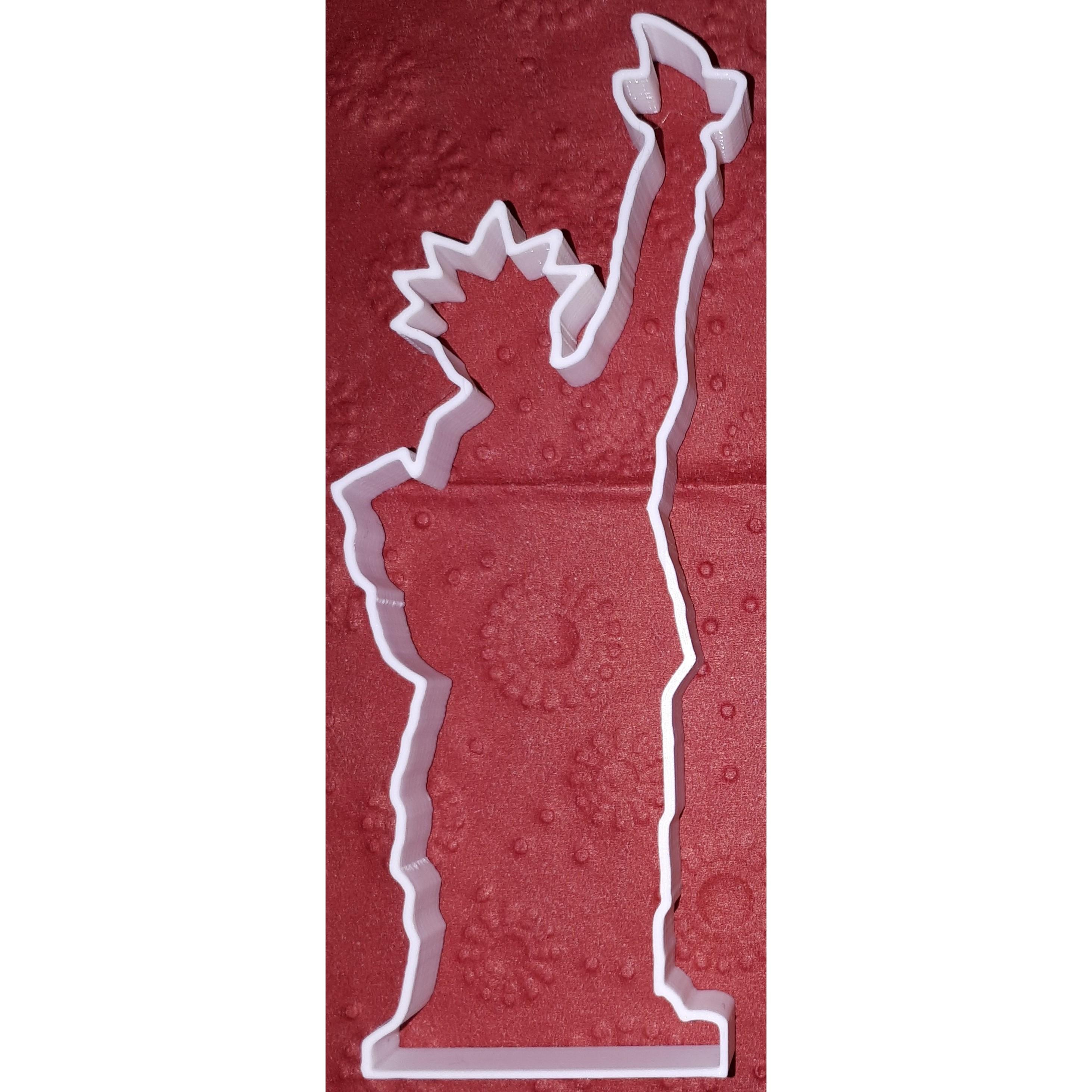 EmportePiece.jpg Télécharger fichier STL gratuit La Statue de la Liberté est plus mignonne • Modèle imprimable en 3D, Hexawar