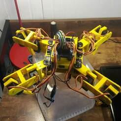 20201209_194059.jpg Download free STL file Spider Quadbot • 3D printing design, LabTec