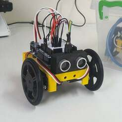 ULC.jpg Download free STL file Low Cost Educational Robot • 3D printable object, LabTec