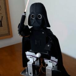 Darth_Vader.png Télécharger fichier STL gratuit Dark Vador Robot bipède • Modèle à imprimer en 3D, LabTec