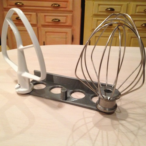 IMG_0005[1].JPG Download STL file SUPORT MURAL ACCESSOIRES KITCHENED • Design to 3D print, bigoudi03