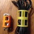 Download STL file Cable and cable reel • 3D printer model, bigoudi03