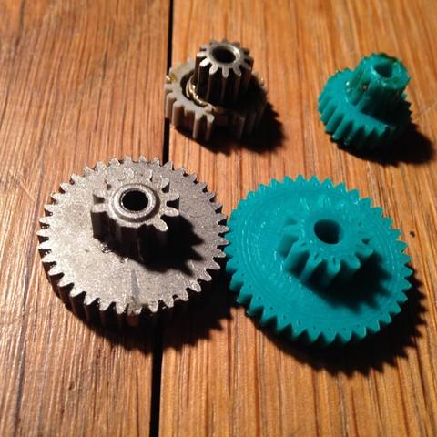 Download STL file Gear repair reducer stove pellets • 3D printing model, bigoudi03