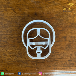Jesus v1 (2).png Download STL file Jesus Cookie Cutter • Object to 3D print, andih256