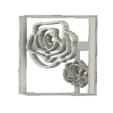 Download free 3D printer designs Roses cookie cutter, andih256