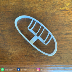 Pan v1 (2).png Download free STL file Bread Cookie cutter • 3D printing design, andih256