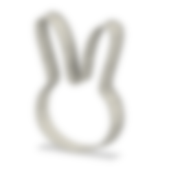 BunnyEars.stl Download free STL file Bunny ears cookie cutter • Model to 3D print, andih256