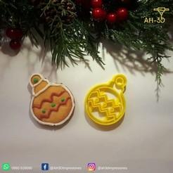 Guirnalda 1.jpeg Download free STL file Christmas Ornament Cookie Cutter • 3D printing design, andih256