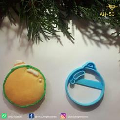Guirnalda 2.png Download STL file Christmas Ornament Cookie Cutter • 3D printing design, andih256