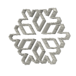 Download free 3D model Snowflake, andih256