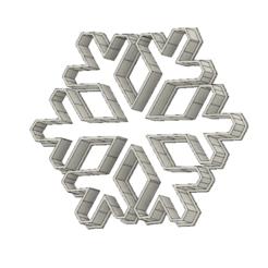 Télécharger fichier 3D gratuit Flocon de neige, andih256