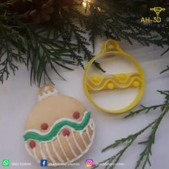 Guirnalda 3.png Download STL file Christmas Ornament Cookie Cutter • 3D printing design, andih256