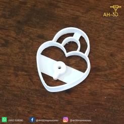 3.png Télécharger fichier STL Coupe-biscuits Heart Lock • Objet pour impression 3D, andih256