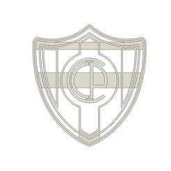CerroPorteño v2.png Download STL file Club Cerro Porteño de Paraguay • 3D printing object, andih256