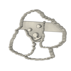 Perro 2 v1.png Download STL file Dog Cookie Cutter • Object to 3D print, andih256