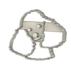 Perro 2 v1.png Télécharger fichier STL Coupe-biscuits pour chiens • Objet à imprimer en 3D, andih256