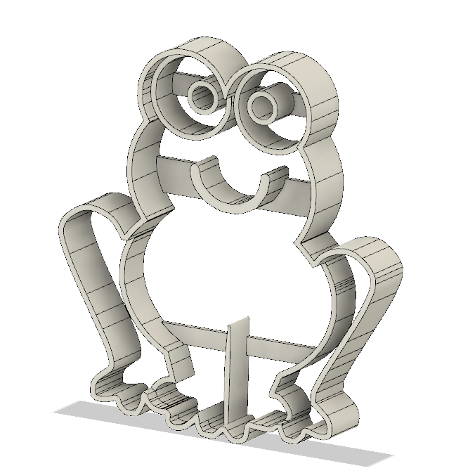 frog.png Download free STL file Frog cookie cutter • Object to 3D print, andih256