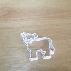 IMG_20190916_090153.jpg Download STL file Cow Farm Cookie Cutter • 3D printer object, andih256