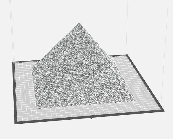 Super_Duper_Fractal_Pyramid.JPG Télécharger fichier STL gratuit Pyramide fractale Super Duper • Objet pour impression 3D, makerwiz