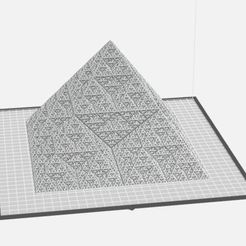 Super_Duper_Fractal_Pyramid.JPG Download free STL file Super Duper Fractal Pyramid • 3D printing model, makerwiz