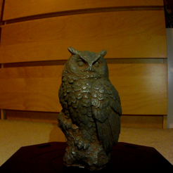Download free STL Dollarama Owl, makerwiz