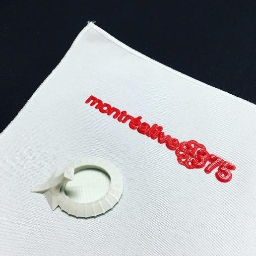 Montreal_375_3D_Prints.jpg Télécharger fichier STL gratuit Logo de Montréal 375 - Anglais • Objet imprimable en 3D, makerwiz