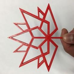 IMG_7739.JPG Download free STL file Canada 150 Logo Wireframe • 3D print design, makerwiz