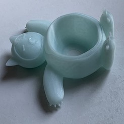 46256292-5E2F-488D-8F07-F9F3DE8AF9A3.jpeg Download STL file Snorlax Planter • 3D printer model, makerwiz