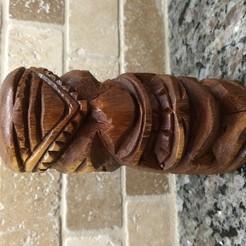 IMG_8140_1.JPG Download free OBJ file Hawaiian Tiki Statue • 3D printing object, makerwiz