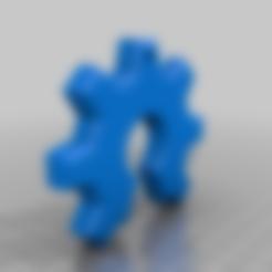 NCC_gear.stl Download free STL file NCC Gear • 3D printing design, Desktop_Makes