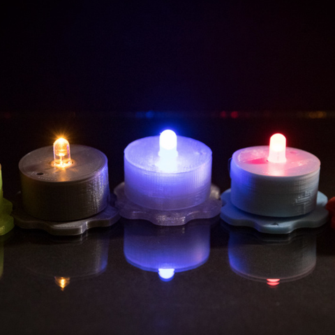 Free 3D printer model Tealight, Desktop_Makes