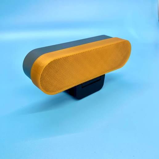 IMG_5787.JPG Download free STL file Logitech Brio Cover • 3D printer design, Desktop_Makes