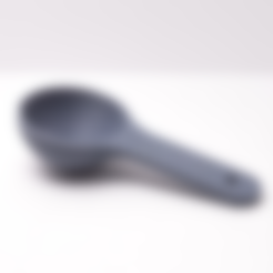 tablespoon.stl Download free STL file tablespoon • Object to 3D print, Desktop_Makes