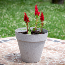 Download free 3D printing templates Flower Pot, Desktop_Makes