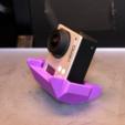 Download free STL file GoPro Polyhedron Stand • 3D printing object, Desktop_Makes
