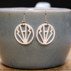 Free 3d printer files Pantsuit Nation Earrings, Desktop_Makes
