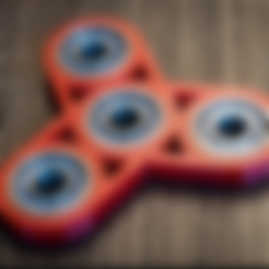 Free 3D print files Tri Spinner, Desktop_Makes