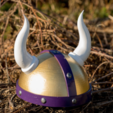 Télécharger STL gratuit Casque de Vikings, Desktop_Makes