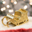 Free 3D model Sleigh Ornament, Desktop_Makes