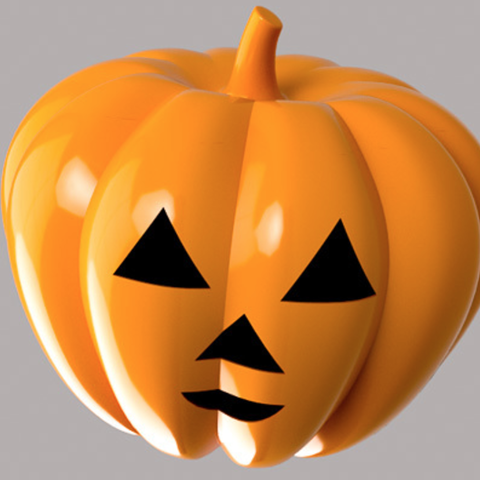 Free STL files Jack O'Lantern, Desktop_Makes