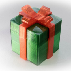 Free STL files Gift Box, Desktop_Makes