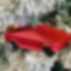 Download free STL files Tesla Cybertruck Christmas Ornament, Desktop_Makes